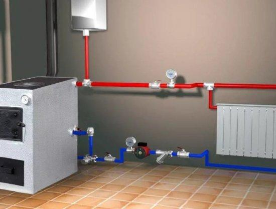 Твердотопливное отопление: преимущества в использовании