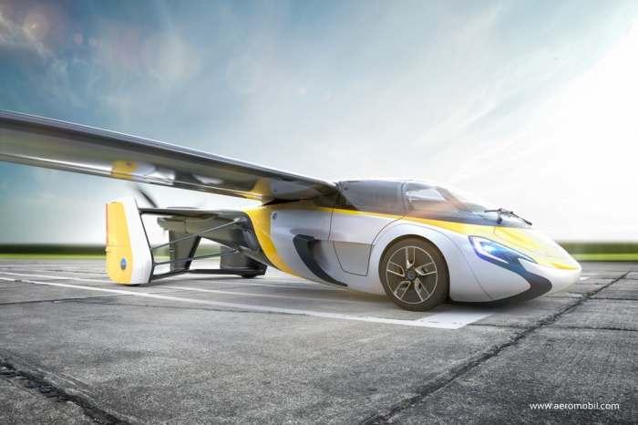 В Словакии начинается выпуск автомобилей-самолетов
