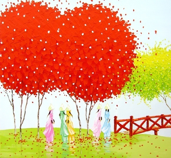 Colorful Landscape Paintings - Creativelite