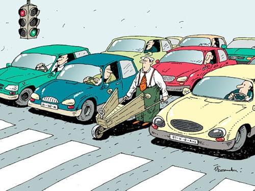 Анекдоты про водителей