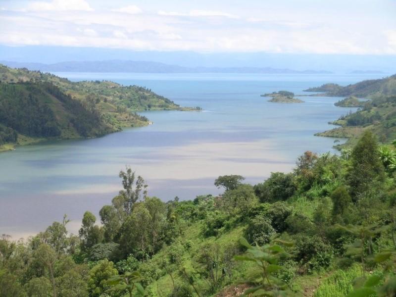 Озеро Киву (Демократическая республика Конго) наша планета, озера, самые опасные