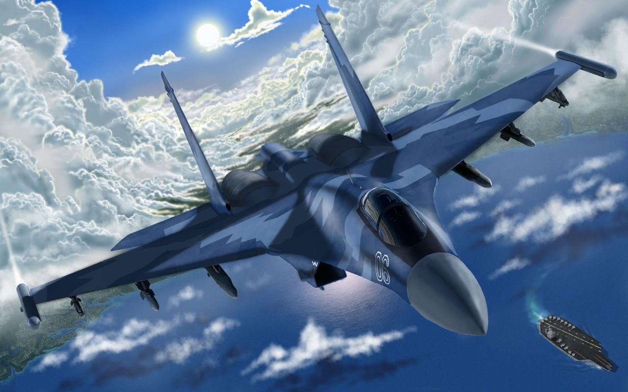 Как Су-35 «опустил» турецкие F-16, или на что способен новейший истребитель ВКС РФ