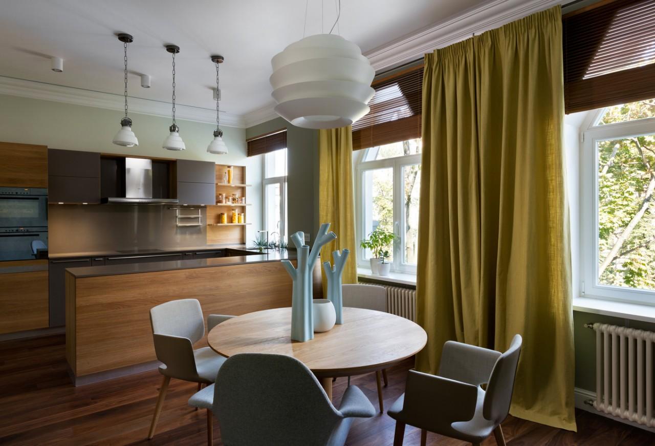 Двухуровневая квартира в центре Киева