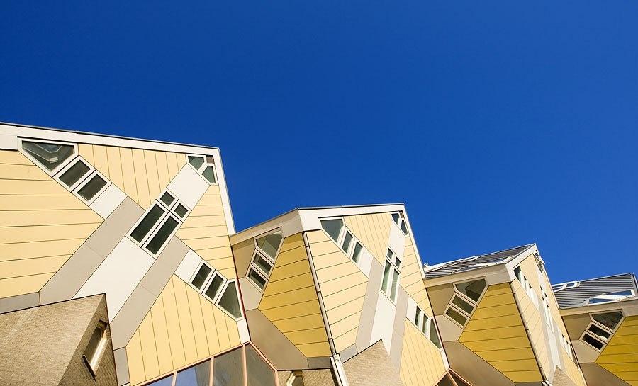 Кубические дома, Роттердам, Нидерланды