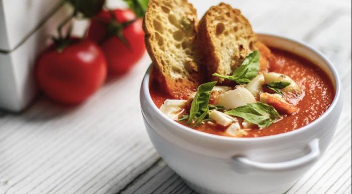 Томатный суп.  Фото: gastronom.ru.