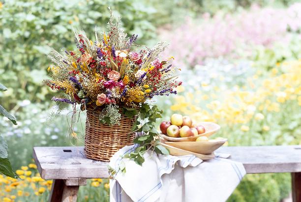 Как правильно засушить цветы?