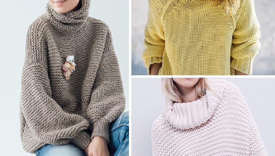 Уютный oversize: модный образ холодной осени