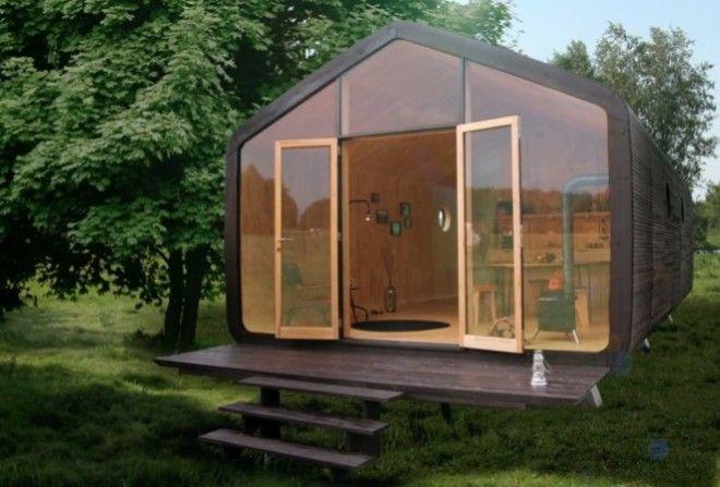 В Финляндии наладили производство картонных домов за 35 тысяч евро