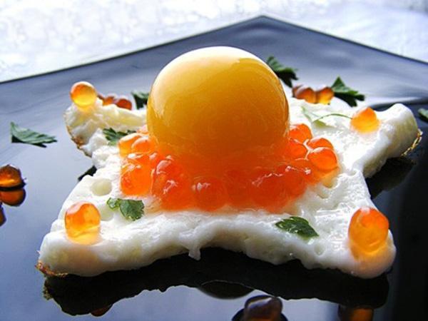Необычная яичница из замороженных яиц!