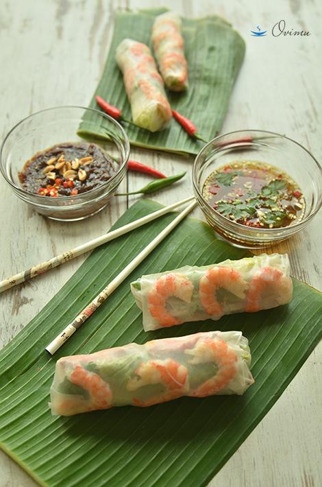 Вьетнамская кухня. Весенние роллы