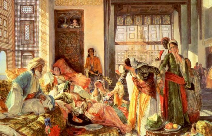 Прислуживать султану - целая наука./ Фото: borhaber.net
