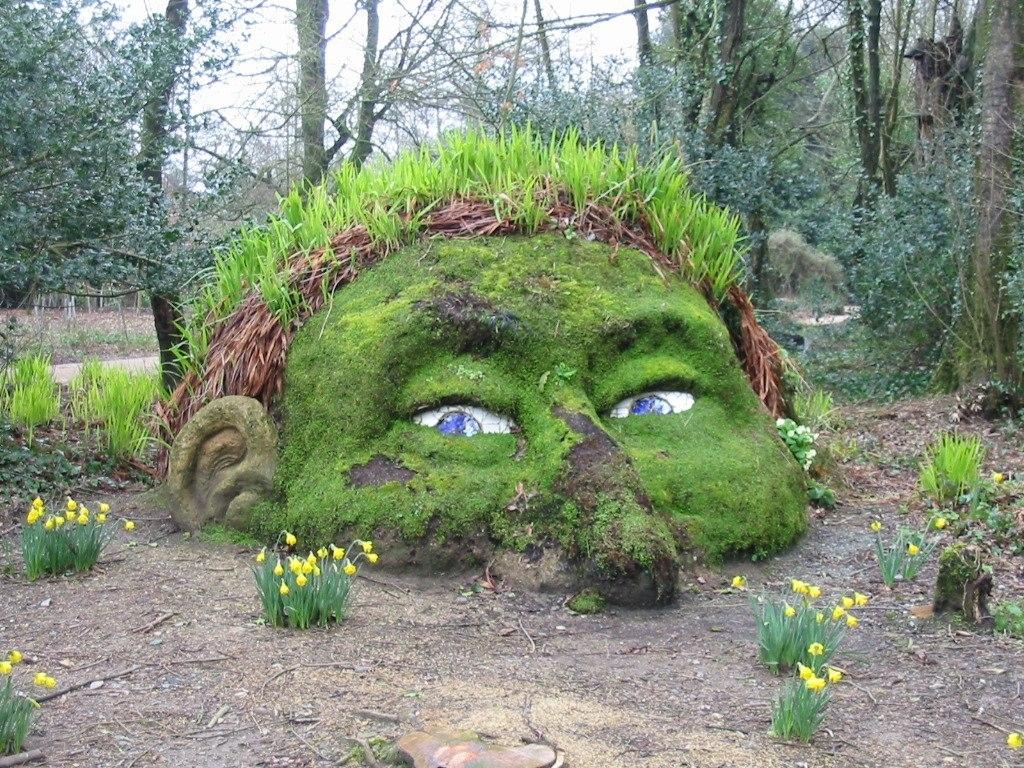 Затерянные сады Хелигана в Англии