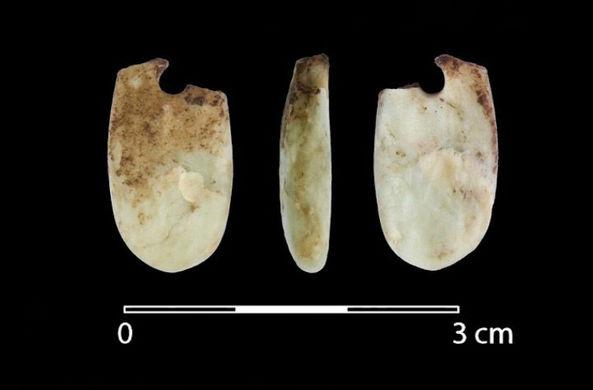 Найден «магический» амулет из ледникового периода
