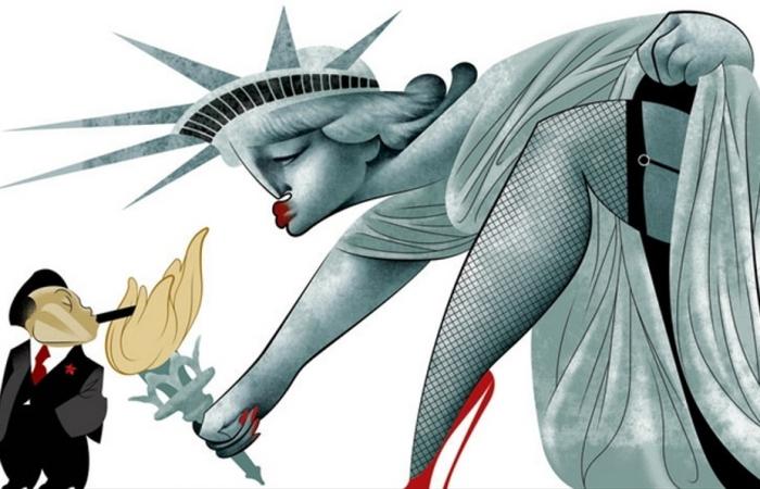 Божественная Америка. Автор: Andre Carrilho.