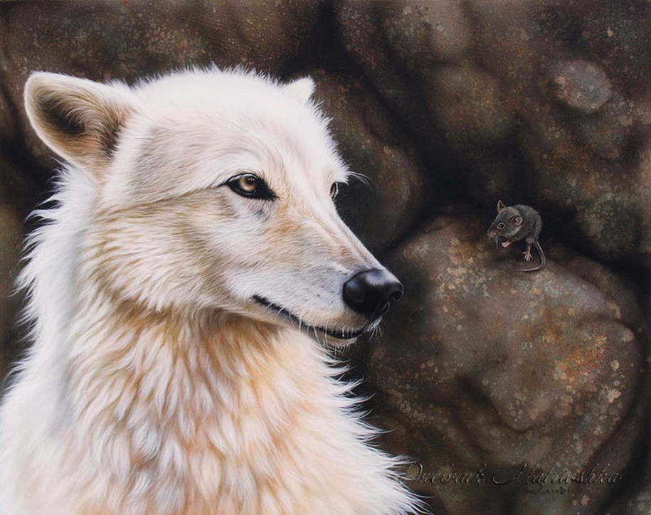 Awesome realistic drawings of animals 17