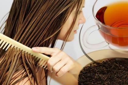 Маски для роста волос из чайной заварки