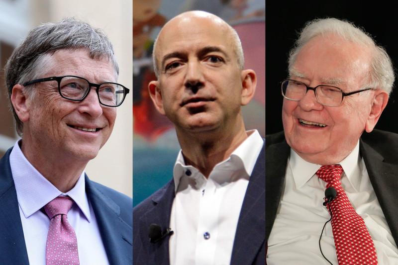 Эти три миллиардера оказались богаче половины населения США