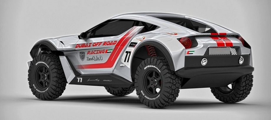 Внедорожник Zarooq Sand Racer выйдет на гонки в пустыне
