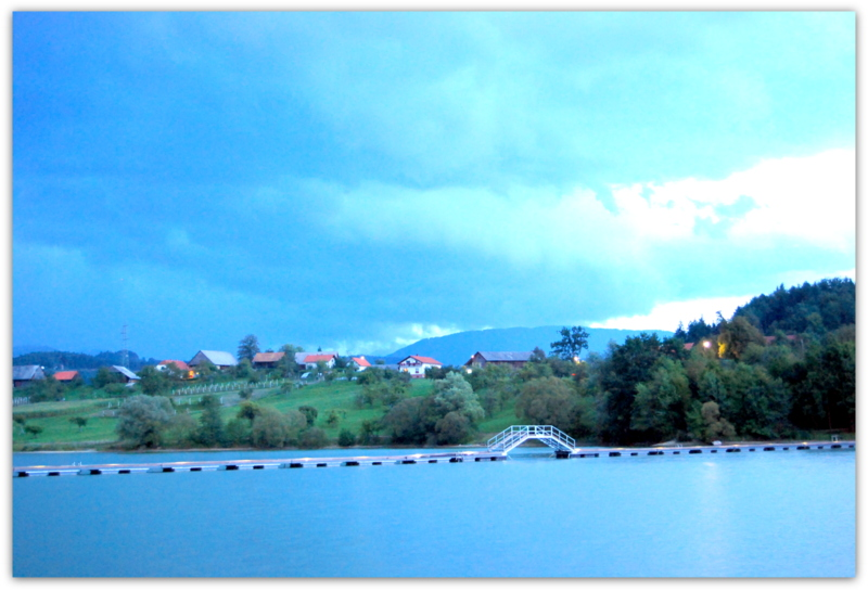 Šmartinsko jezero (Шмартинское озеро), Словения ... путешествуем