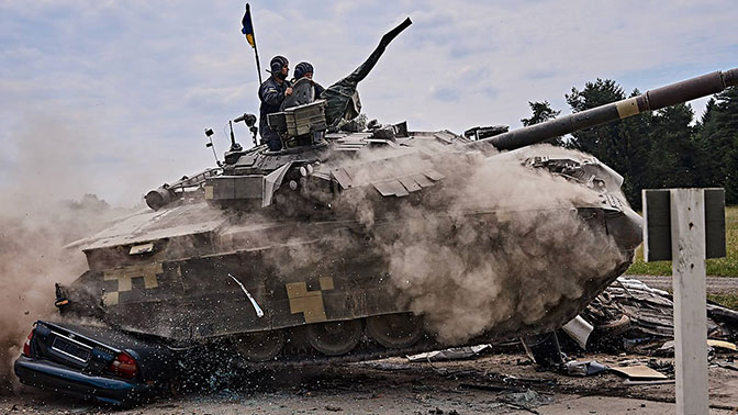 Еле дышит и трясётся. Плачевное состояние украинских танков показали на видео