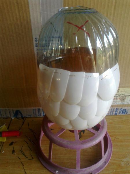 Как сделать попугая из бутылок пошаговая инструкция