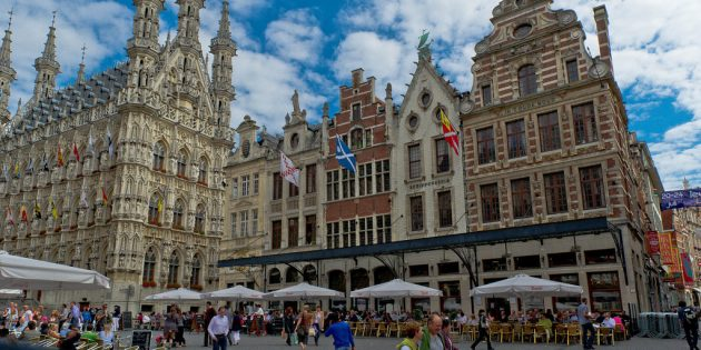Куда поехать в апреле: Лёвен, Бельгия