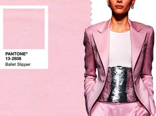 "Цвет осени 2017 по версии Pantone —  ballet slipper (""цвет балетного пуанта"" )"