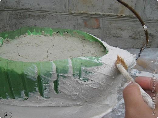 Мастер-класс, Скульптура Лепка: Лебедь-кашпо ( обещанный МК) ч. І. Фото 7