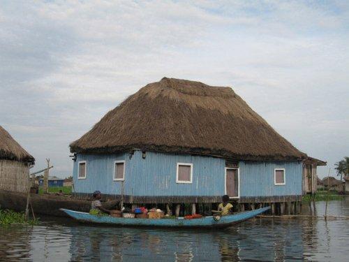 Город-озеро Ганвье