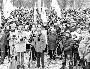 Для того чтобы заставить Россию изменить свою политику, необходимо народное возмущение