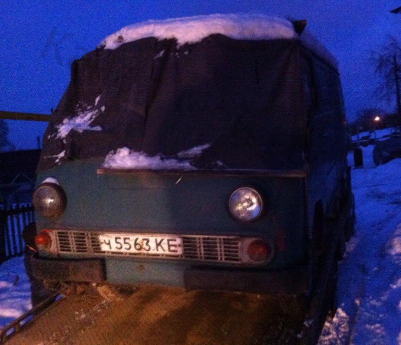 Собрал забавный фургон из старенького ЕрАЗ-762