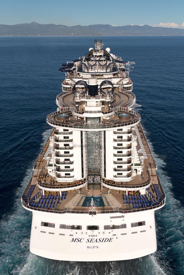 Как выглядит круизный лайнер нового поколения