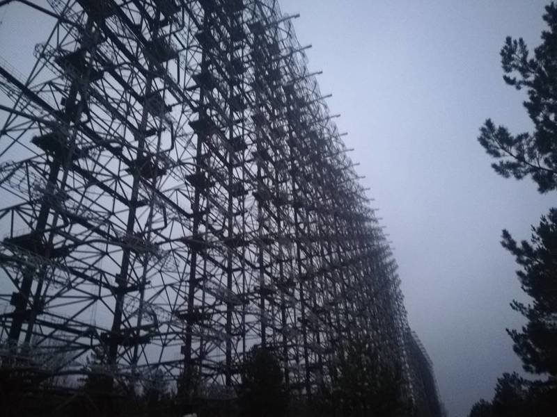 Советская загоризонтная радиолокационная станция для системы раннего обнаружения пусков межконтинентальных баллистических ракет Припять, Чернобыль, зона, туризм, чаэс, экстрим