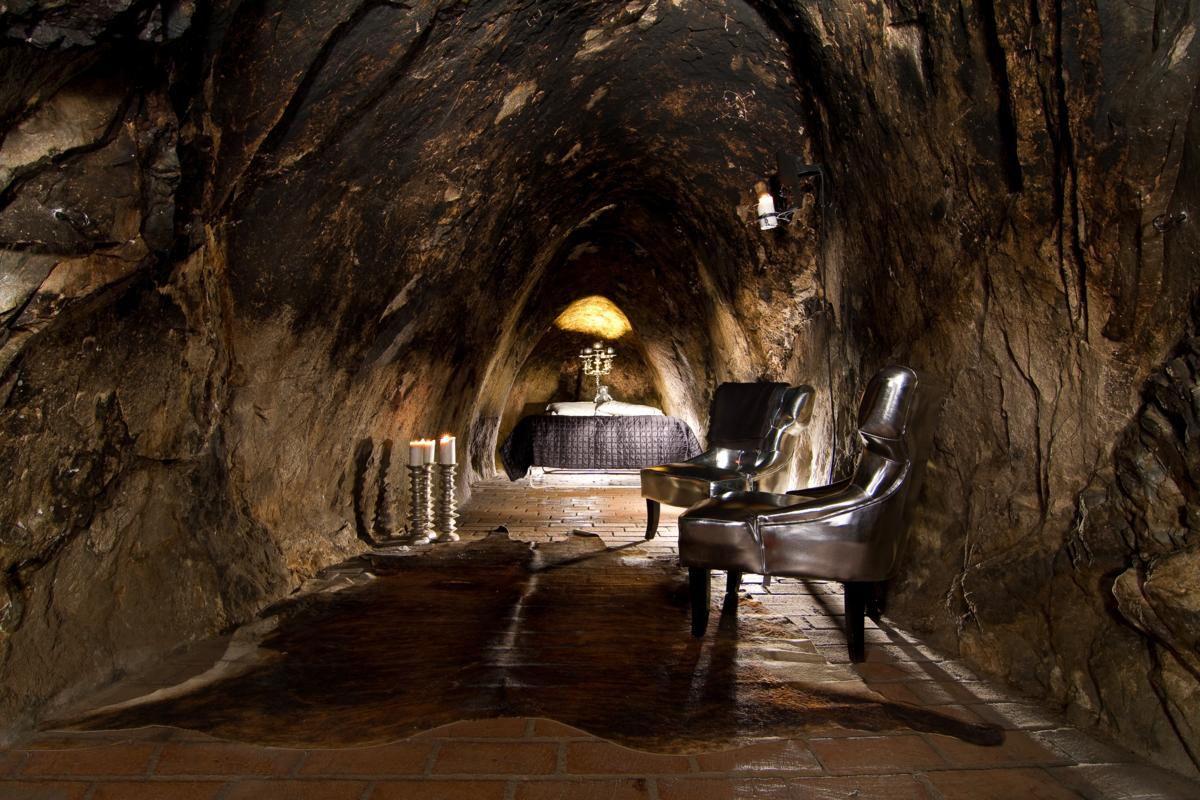 Таинственный подземный город…