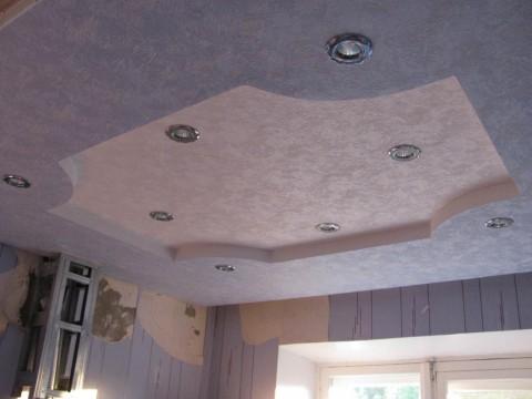 Как сделать навесной потолок своими руками видео из панелей