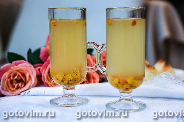 Облепиховый чай. Фотография рецепта