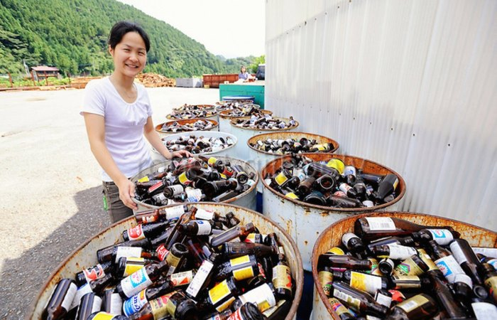 Все об утилизации мусора в Японии.