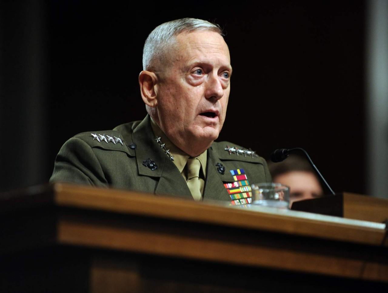 Джеймс Мэттис: военные США готовы приступить к разделу Сирии