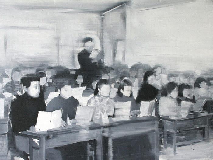 Картины Jisan Ahn. Мрачные п…