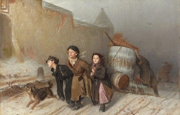 Удивительные фотографии знаменитых картины русского живописца.
