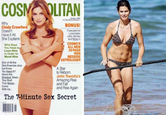 как знаменитости выглядят на обложках журналов и в реальной жизни