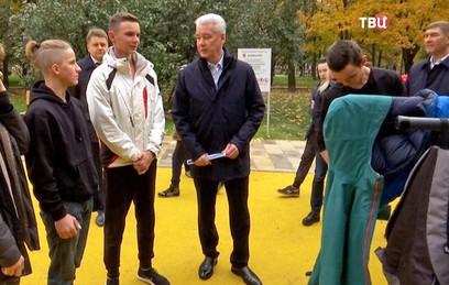 Собянин открыл парк имени Святослава Фёдорова после благоустройства