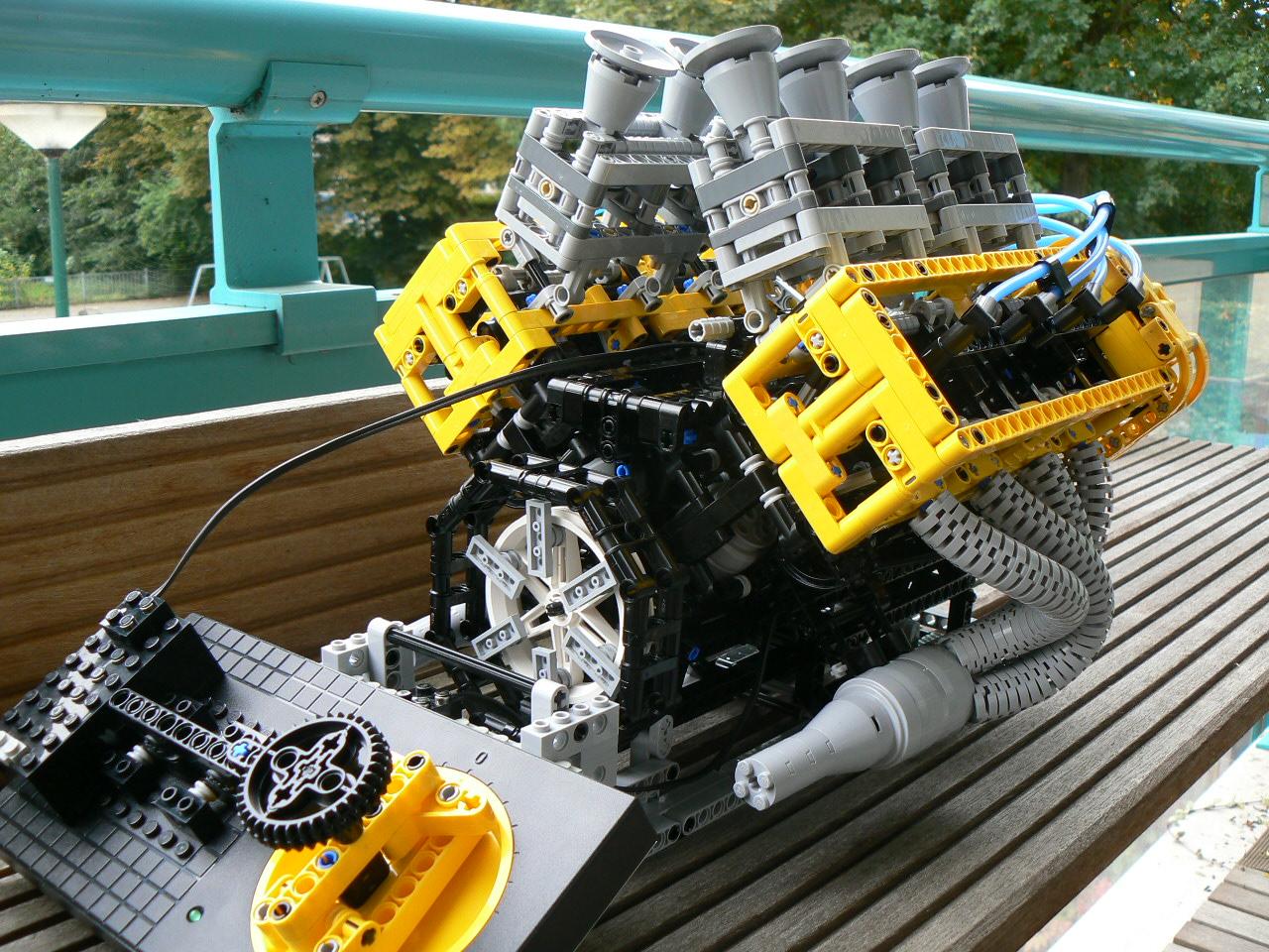 Возможен ли пластиковый двигатель?