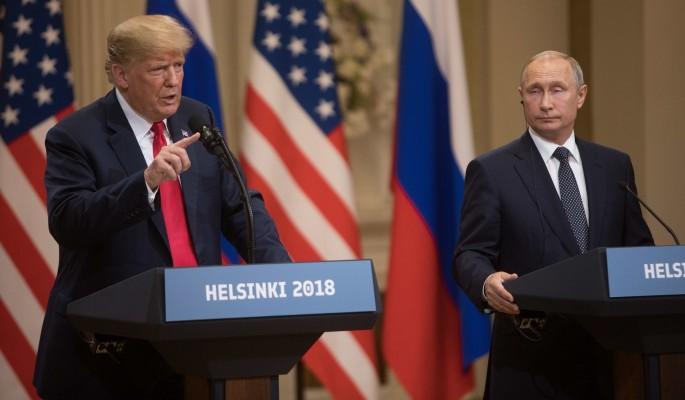 Трамп после встречи с Путины…