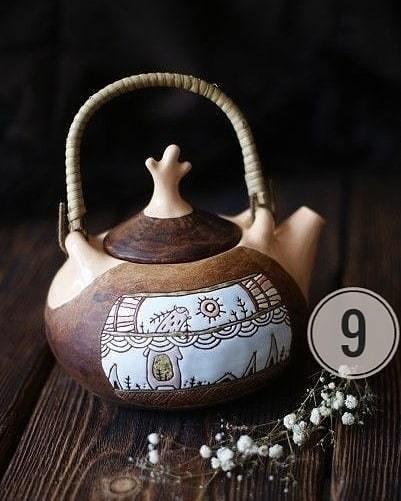 Какие симпатичные чайники! Какой чайник вам понравился больше всего? 1 🔄10