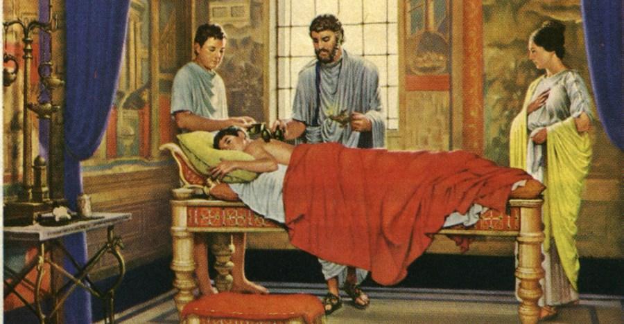 Древняя терапия. Как наши предки лечили грудную жабу и лихоманку?