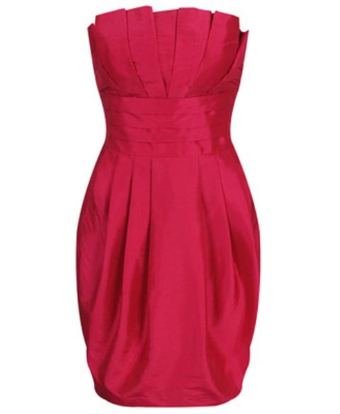 Темно-розовые платья