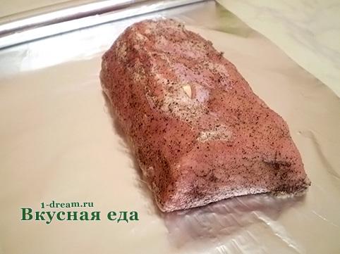 Как сделать карбонат из свинины в домашних 192