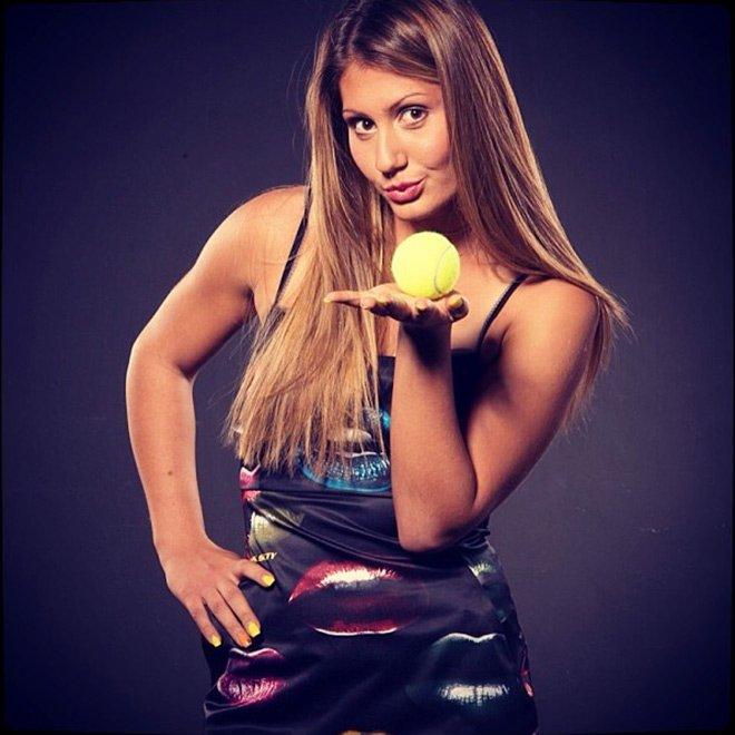 Красивые фотографии известных  теннисисток.