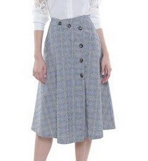 Выкройка стильной юбки